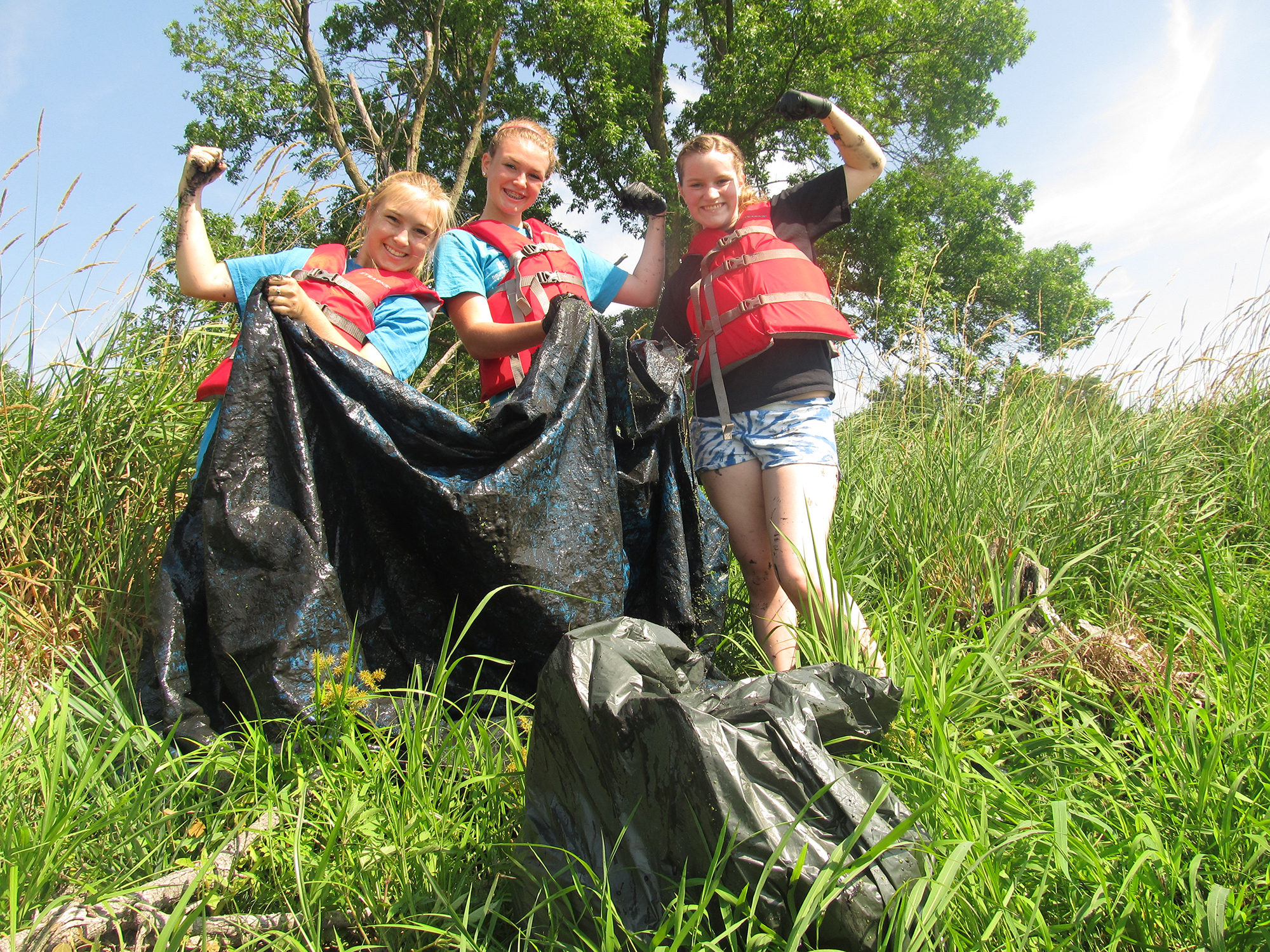 Cleaning the Fox River
