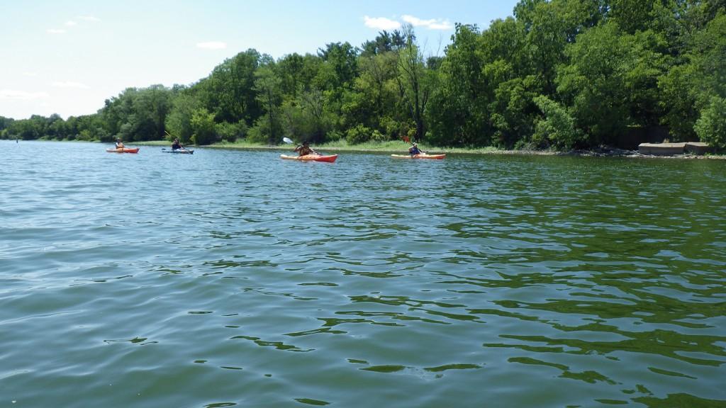 Kayaking Fox River