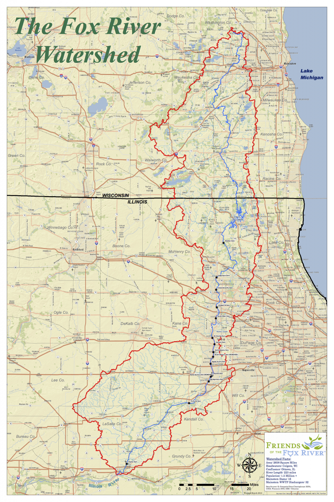 Overall Fox Watershed Map