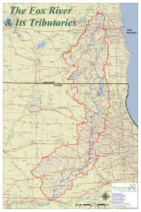 fox subwatersheds map