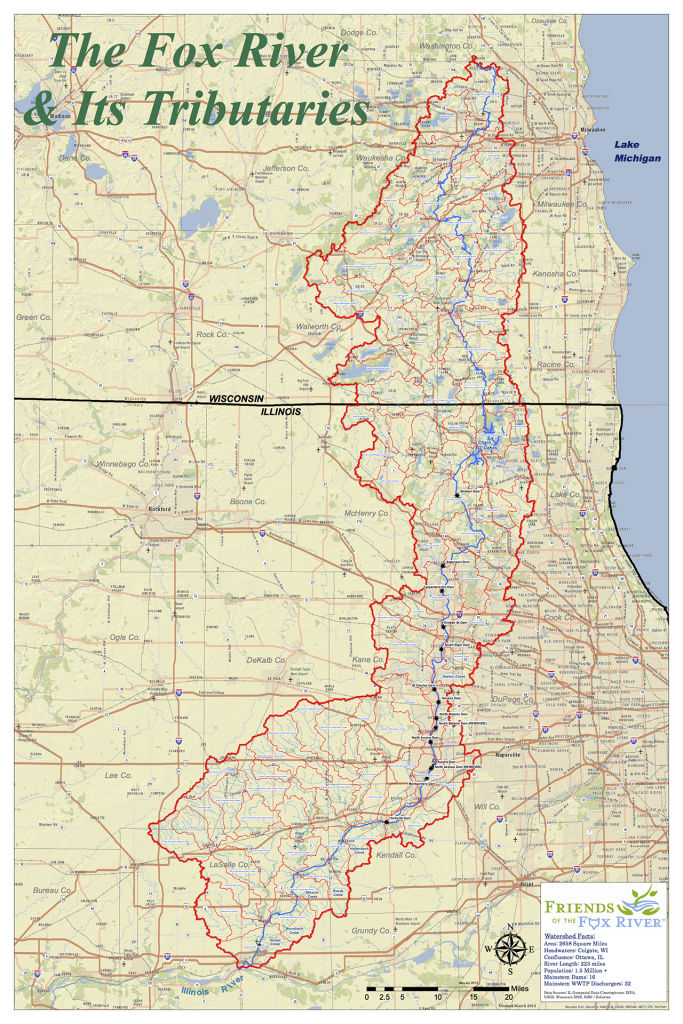 Fox River and Its Tributaries