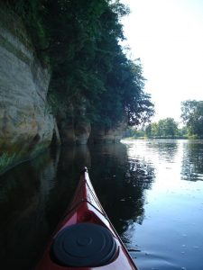 Fox River Dells, photo by G. Mechanic