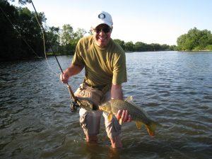 Pat with a carp