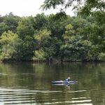 GS in kayak
