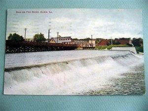 fox dam postcard 1
