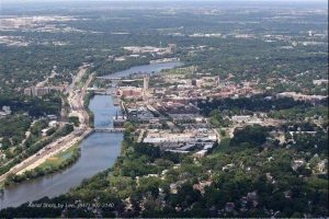 Fox River in Elgin by Daily Herald