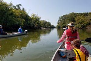 Find The Fox canoe trip