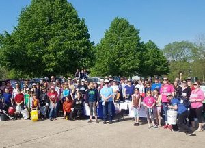 Elgin Cleanup volunteers 2019