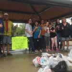 Kristin Delaney, family and friends cleanup in S. Elgin