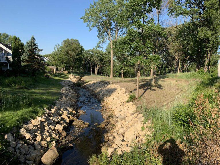 Souwanas Creek, a tributary of the Fox River