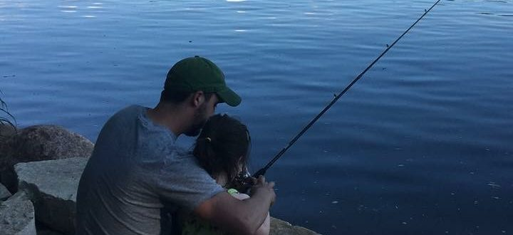 Kyle Della Fishing by Dan