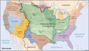 major basins