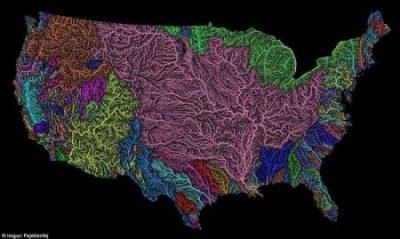 north american watersheds