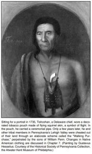 Tishcohan, a Delaware chief