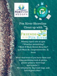 ShoreLine Cleanup Carpentersville Flyer
