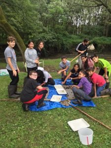 students at Otter Creek on 9 7 2018