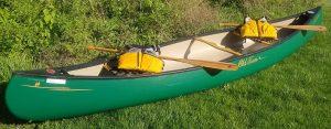 raffle canoe small