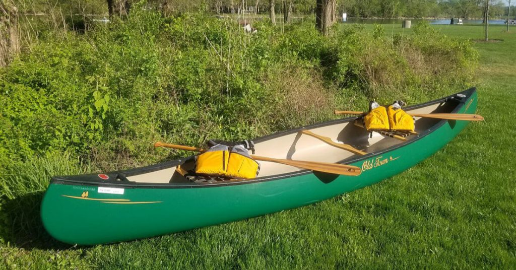 2021 Canoe Raffle package banner